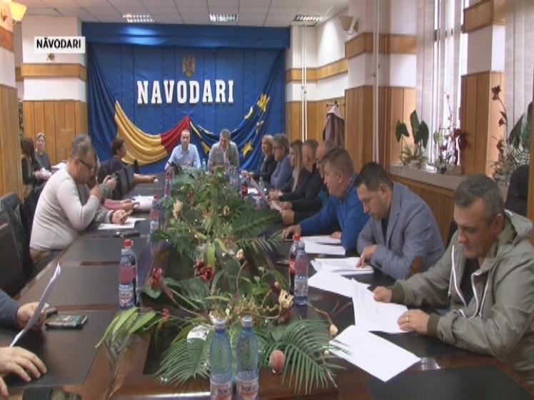 Sedinta consiliul Navodari